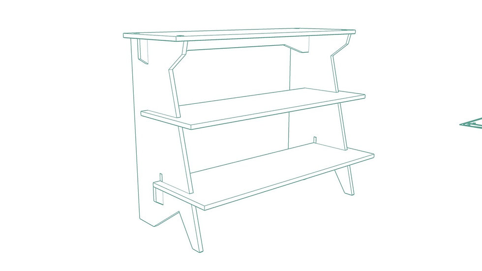 Kutuchief Display Shelf
