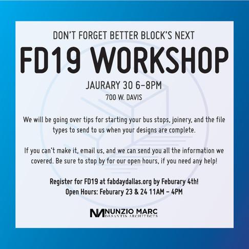 FD19: Build a Better Bus Stop