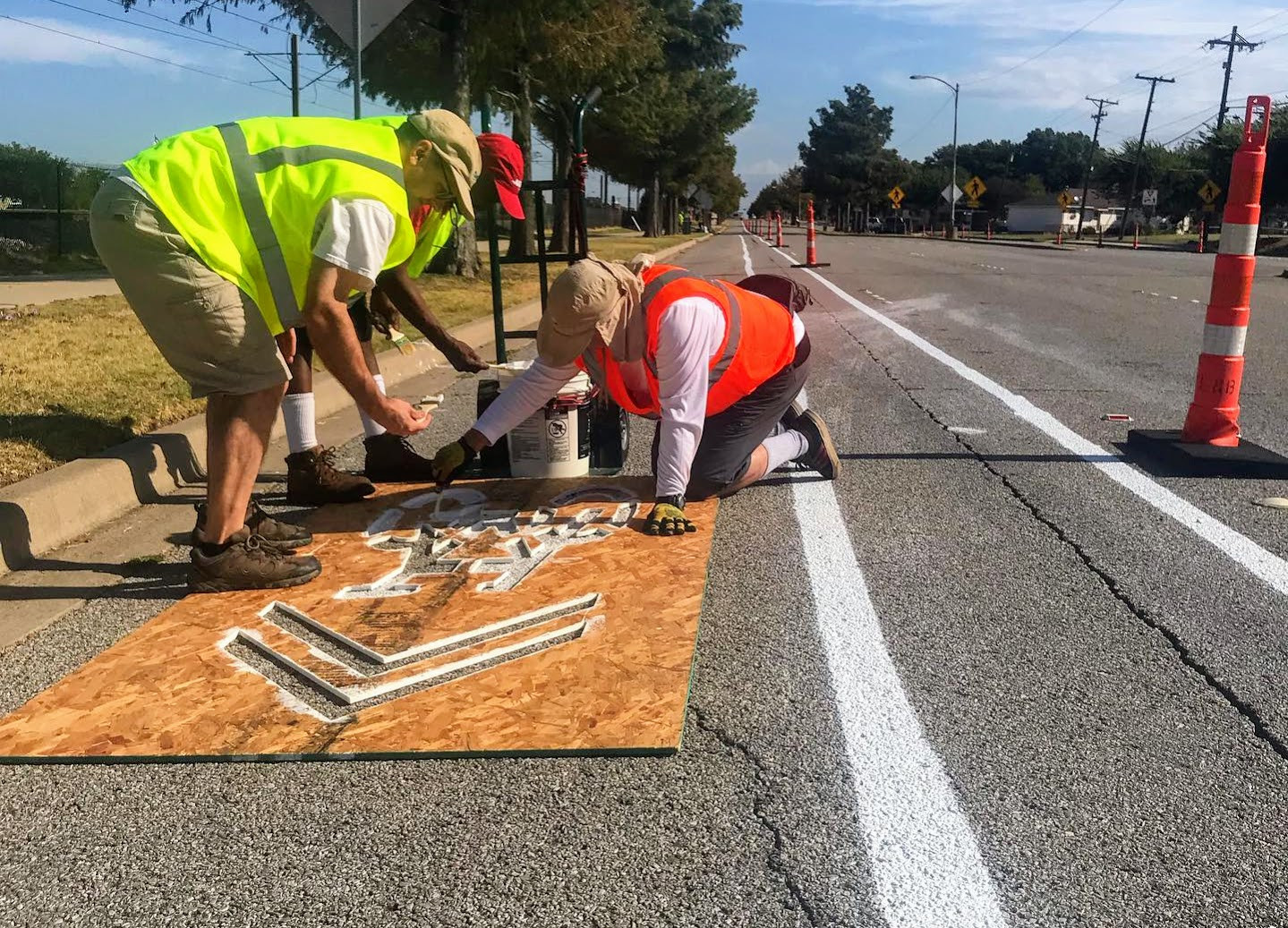 Richardon, Texas Bike Lanes Volunteers