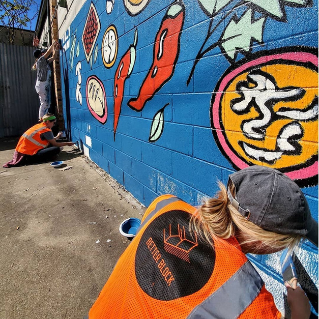 Public Murals for CPTED