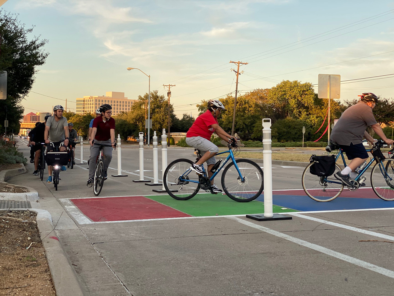 Richardon, Texas Bike Lanes