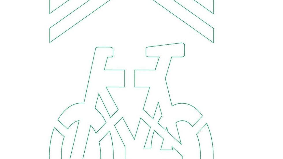 Diodati Bike Stencil