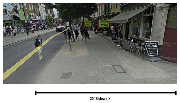 sidewalksize
