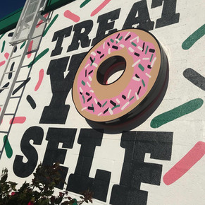 Southern Maid Donut Wall