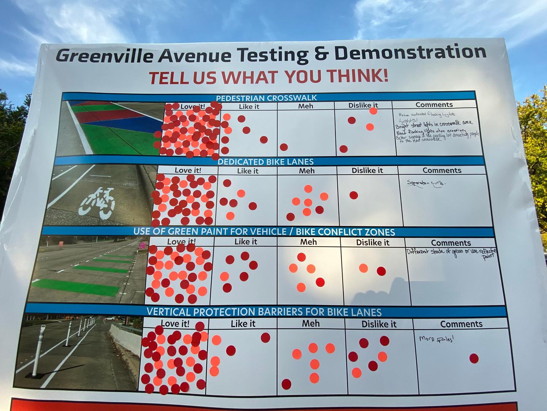 Richardon, Texas Bike Lanes surveys