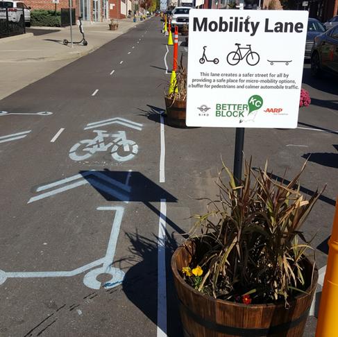 BetterBlockKC Creates a Mobility Lane