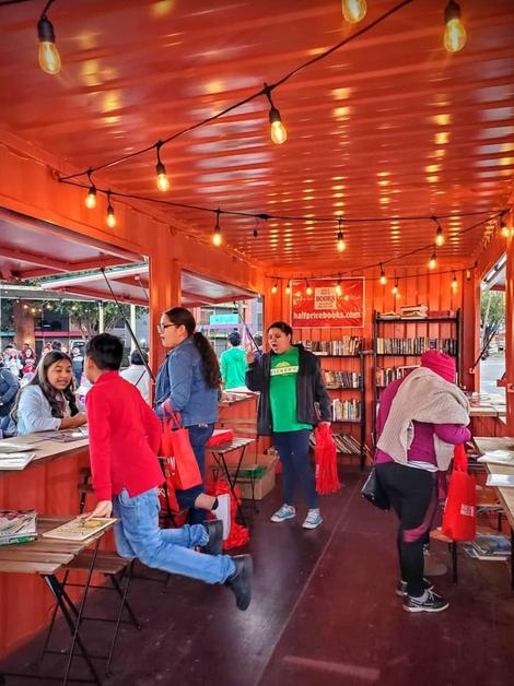 Pop-up Book Shop