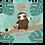 Thumbnail: Kawaii Sloth Down Art Print