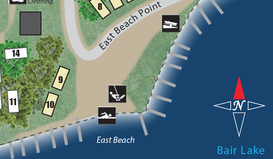 ShadyPointCampground-Map_EastBeach