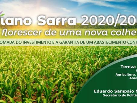 Plano Safra 2020/2021 tem juros de custeio de 2,75% a 6%