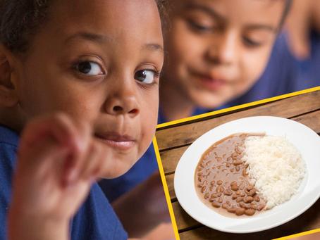 Projeto de lei que torna obrigatório arroz e feijão nas escolas é aprovado em São Paulo