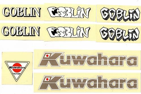 Kuwahara Goblin用ステッカーセット