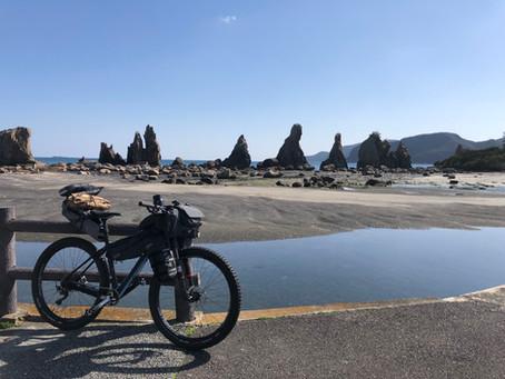 今度は真冬の2月に本州最南端にバイクパッキング スタイルでキャンプしてきました。