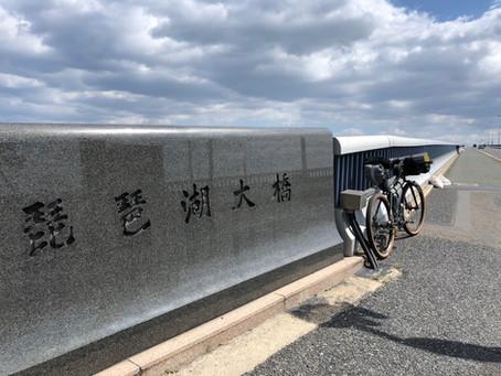 ー桜を求めて琵琶湖畔までバイクパッキング!ー