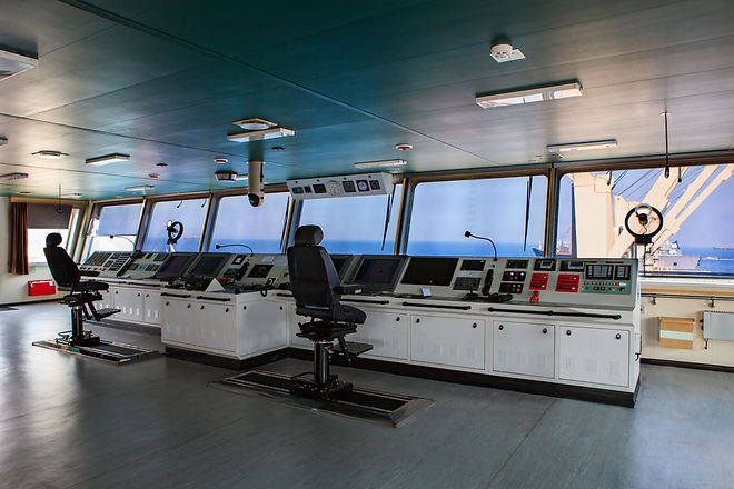 wheelhouse control board of modern indus