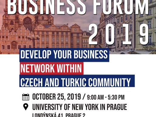 Praqada Turk milletler Biznes Forumu teşkil olunacaq