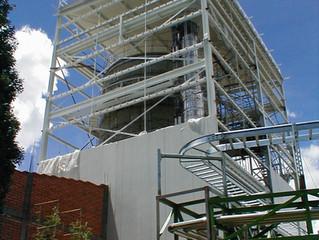Edificios con estructuras metálicas – un proceso industrial