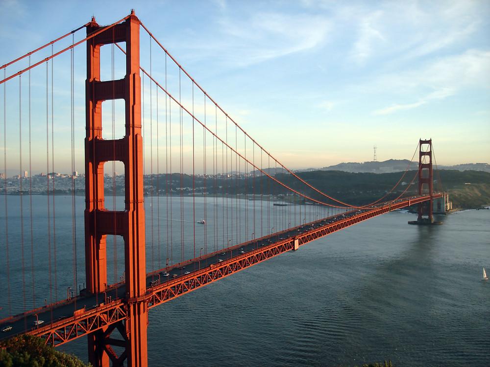 Golden Gate - Estructura metalica