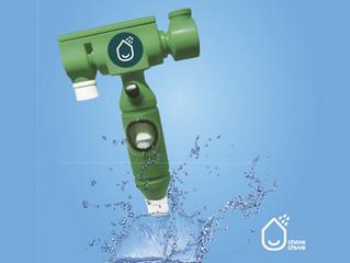 Este sistema capta el agua lluvia para ser usada como agua potable