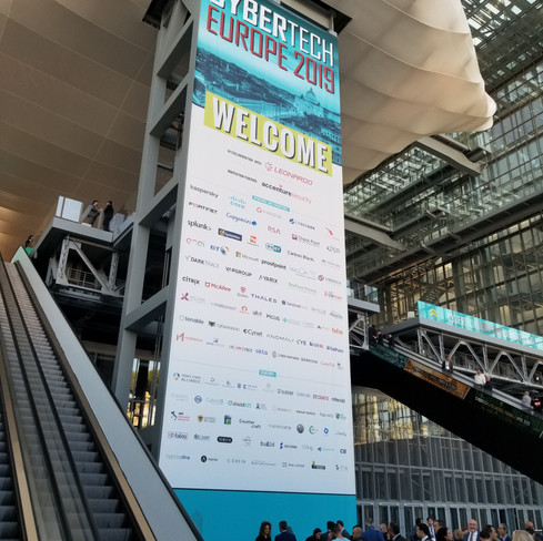 Another Impressive Cybersecurity Event: Cybertech Europe 2019