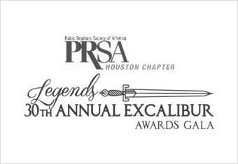 PRSA Houston Excalibur Award Recipient