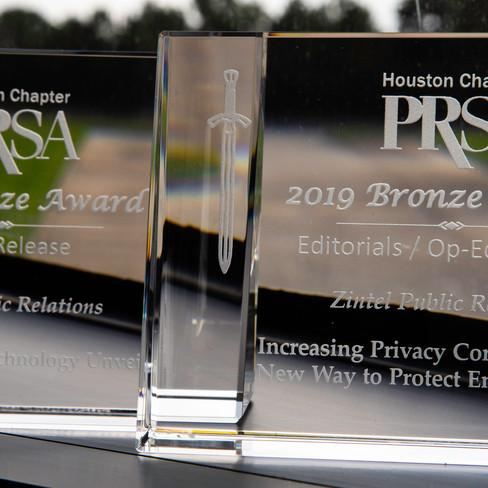 Zintel PR Earns Bronze Excalibur Awards in Op-Ed and News Release Categories