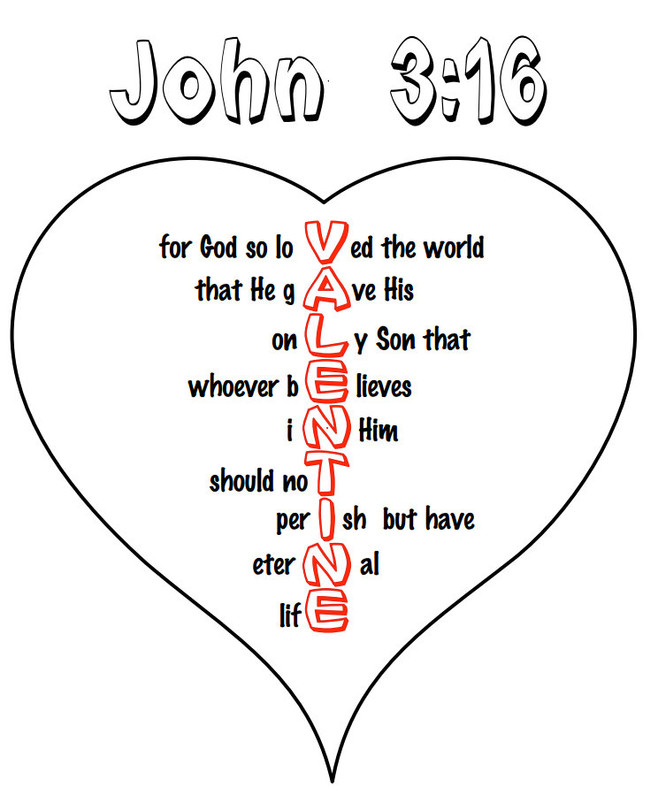 John 3:16 Valentines Party This Wed!