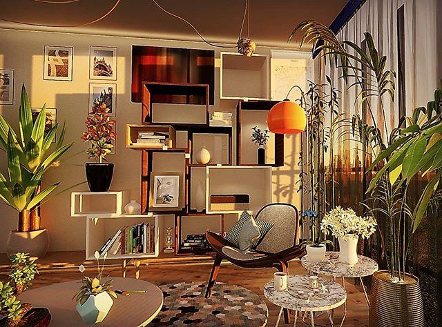 Processing interior 3D #3dinterior @rndr