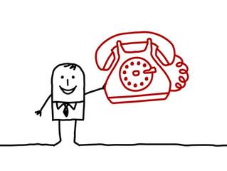 Souriez vous êtes au téléphone