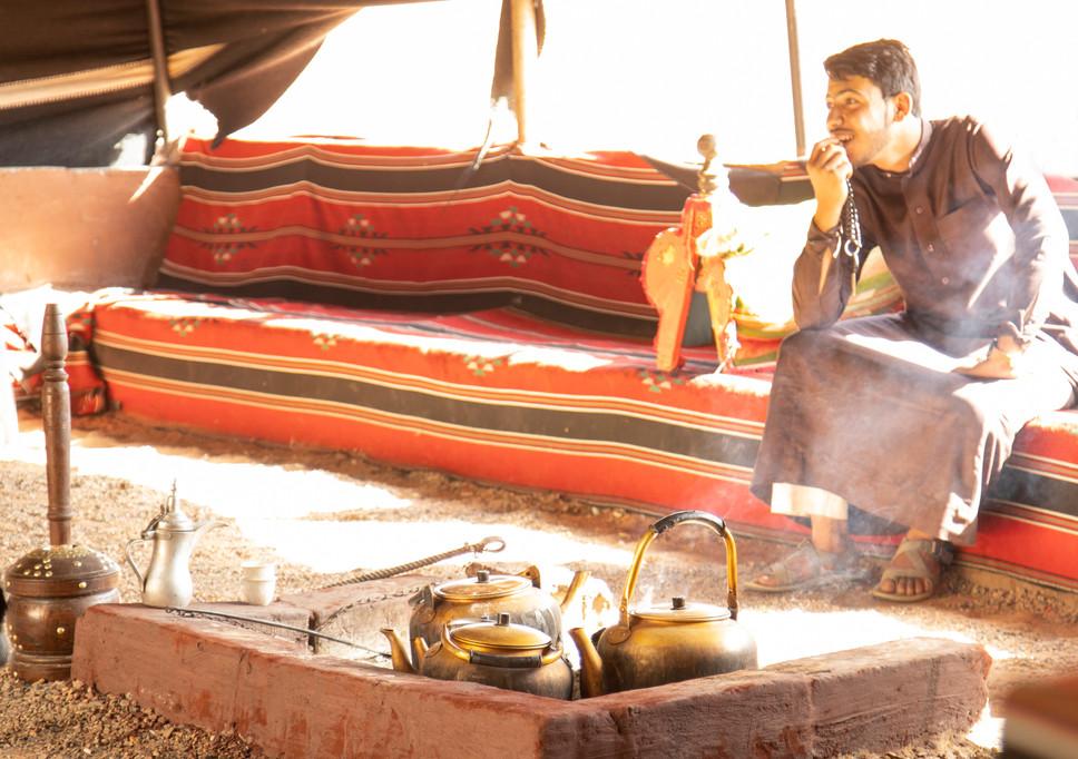 Jordan Bedoin tent