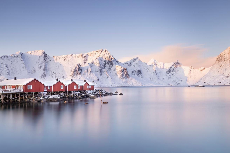Lofoten red houses