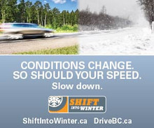 B.C. Winter Driving Regulations Into Effect October 1st