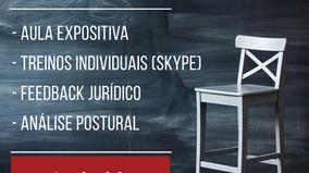Treinamento individualizado para prova oral do TJ-SP: inscrições até 20/08! Vagas limitadas