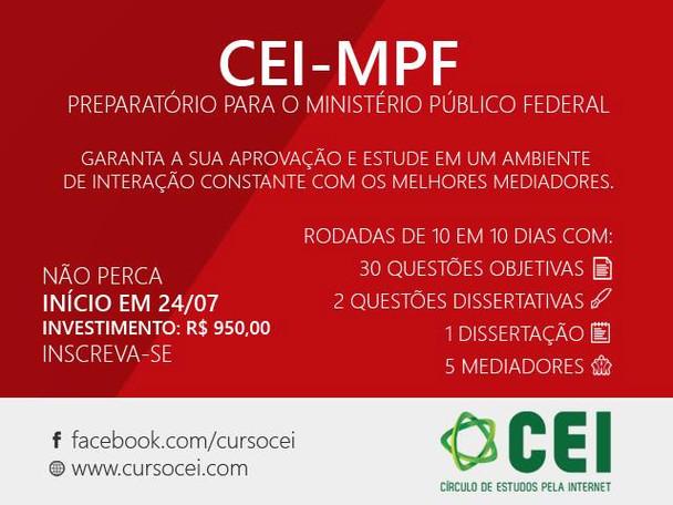 Círculo de Estudos pela Internet (CEI-MPF)