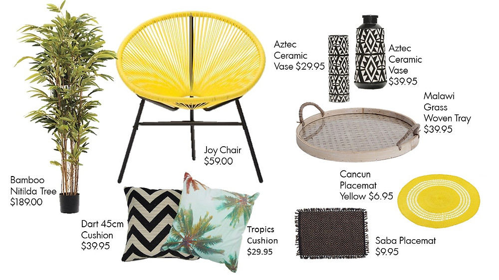 Joy Chair and accessories