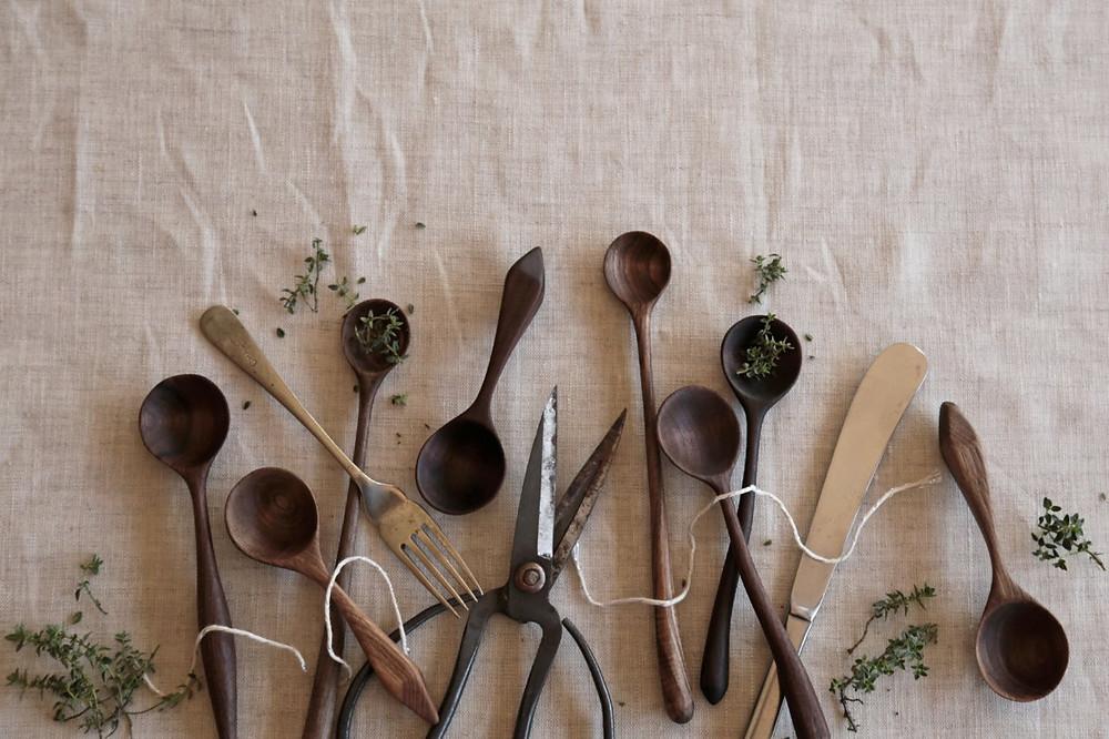 Sari Jane handmade spoons