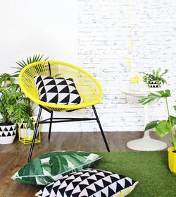 Yellow Joy Chair
