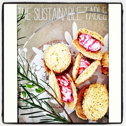 Instagram - Day 4 Edible- okay, not your normal sustainable foods, but they'll keep me going today,