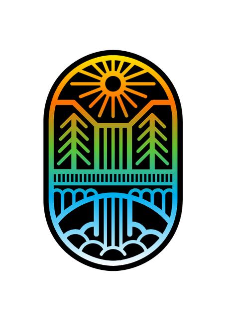 Multnomah Falls Icon