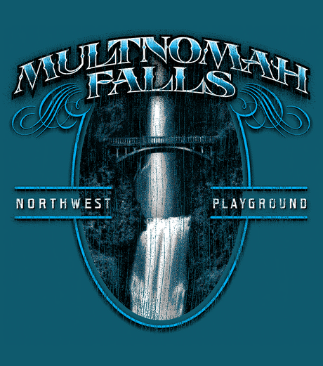 Multnomah Falls Tee Graphic