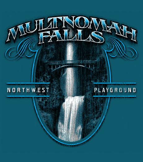 Multnomah Falls Tee Graphic