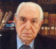 Dr. D. Pedro Laín Entralgo, invitado especial de la XV Edición del Congreso Nacional de Estudiantes de Medicina.