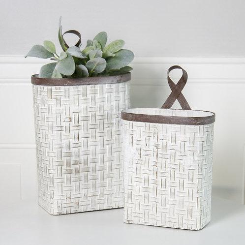 Metal Woven Baskets