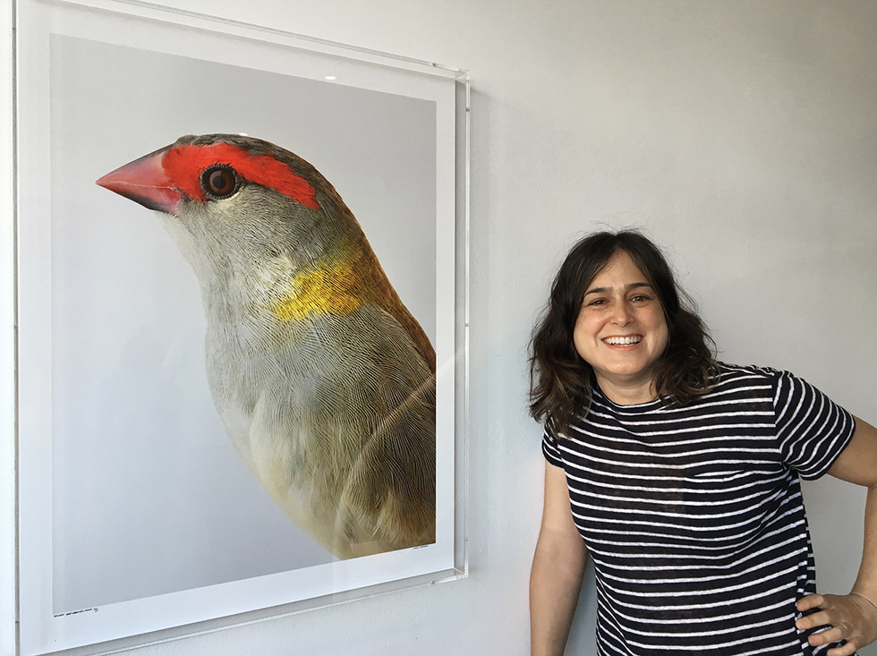 Leila Jeffreys kindly donated a print for auction