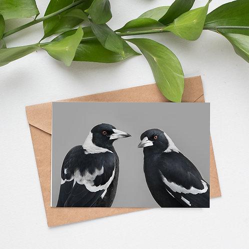 Mixed Flock - Set of 5 Bird Cards