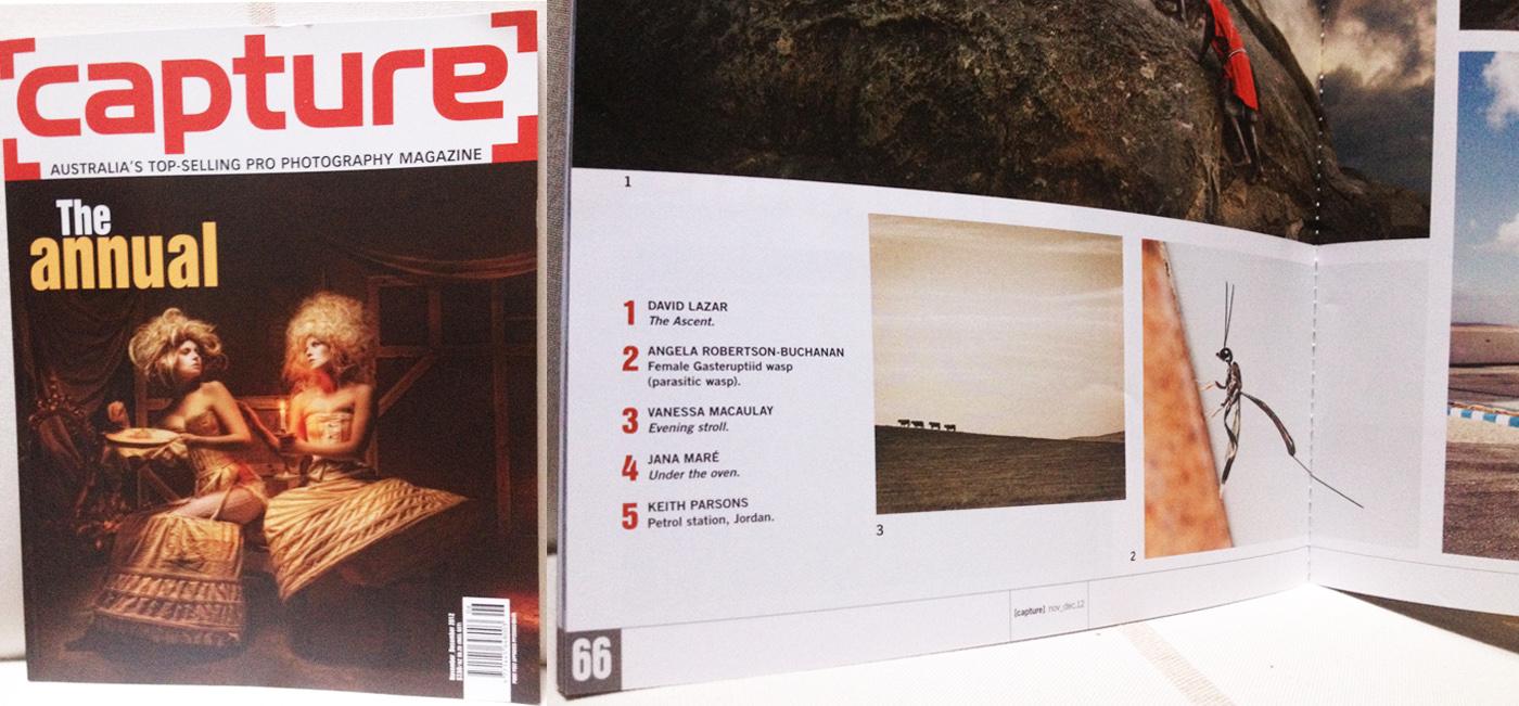"Capture Magazine ""The Annual"" 2012"