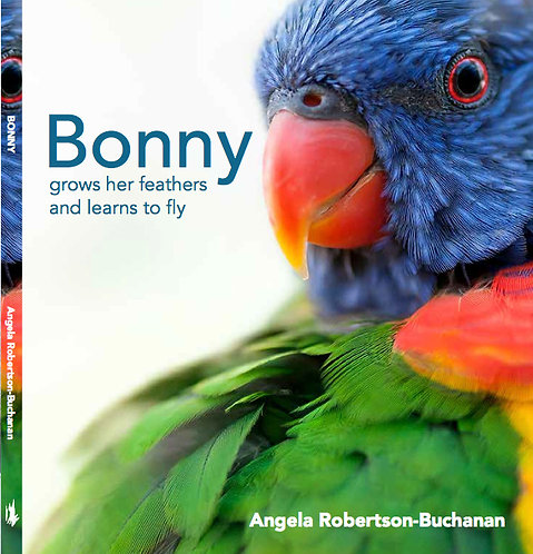 Children's Book - Bonny Grows her Feathers and Learns to Fly