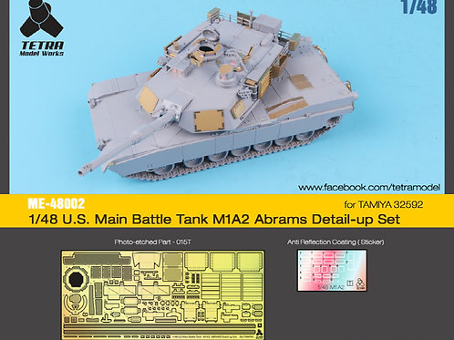 1/48 U.S. Main Battle Tank M1A2 Abrams for Tamiya 32592