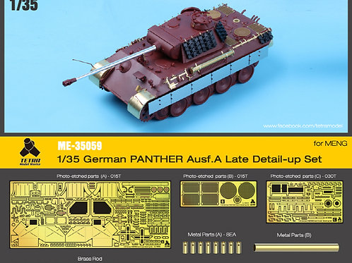 1/35 Panther Ausf.A (Late) Detail Up PE (for MENG) SKIRTS NOT INC