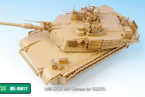 PE Upgrade for the 1/35 M1A2 Abrams SEP from TAMIYA